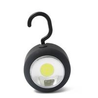 использовать магниты оптовых-Портативный фонари открытый водонепроницаемый Портативный светодиодный свет кемпинг лампа с Магнитом и крючком Круг висит палатка фонарь использовать AAA