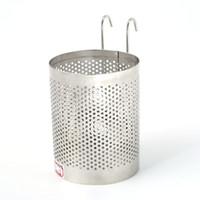 cuchillos de cocina seguros al por mayor-Cuchillo Chopsticks Cuchara de almacenamiento Rack Safe Resistente a la abrasión Soportes de acero inoxidable Durable No es fácil de oxidar Cocina Accesorios 7 2rf3 XB