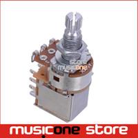 Wholesale Control Potentiometer - Wholesale- A500K Push Pull Guitar Control Pot Potentiometer Guitar part