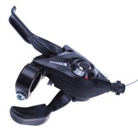 Wholesale road brake levers for sale - Group buy 21 Speed Bicycle Shifter Brake Conjoined DIP Derailleurs Mountain Bike Road Handle Crank Levers Left Right Brake Shifter Set