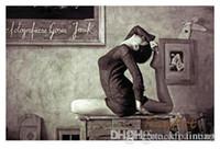знаменитые картины маслом женщины оптовых-ручная роспись известные картины женщины Одри Хепберн картина маслом холст искусства картины маслом галерея холст искусство скидка стены декор холст