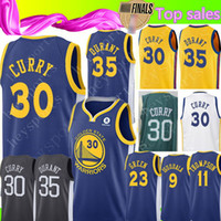 Wholesale quick state online - 30 Stephen Curry Golden State Warriors Jersey Men s Kevin Durant Draymond Green Andre lguodala Klay Thompson Basketball Jerseys