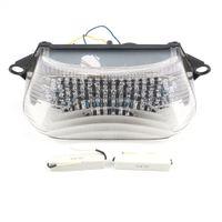 ingrosso falco leggero-Segnale luminoso per fanale posteriore a LED per moto Honda Super Howk VTR1000 / VTR1000F 1997-2005