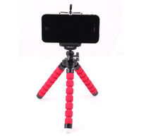 ahtapot üçayak standı telefon tutacağı toptan satış-Mini Esnek Kamera Telefon Tutucu Esnek Ahtapot Tripod Braketi Standı Tutucu Dağı Monopod iphone 6 7 8 artı smartphone