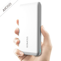 Wholesale cell phone battery retail packaging online – ROMOSS Portable D Edge External Battery Charger mAh Power Bank for Cell Phone for iPhone Plus Retail Package Aicoo