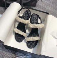 ingrosso sandali in cinturino alla caviglia in rilievo-vendita calda perle bianche perline cinturino alla caviglia sandalo tacco alto 2018 sexy open toe scarpe donna tacchi sottili sandali gladiatore