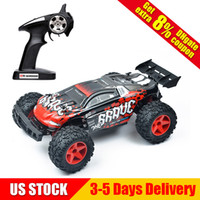 Wholesale high electric motor - 1 12 2.4G 4WD High Speed 35km h Off-Road Partial Waterproof RC Car High Speed Desert Buggy Remote Control Car Red