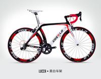 carbon road bikes verkauf großhandel-Heißer verkauf! Vollcarbon costelo lucca rennrad kohlefaser fahrrad diy komplette rennrad completo bicicletta bicicleta completa