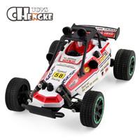coches rc super al por mayor-Los más nuevos niños RC Racing Buggy Car 2.4GHz Drift Remote Control juguetes Super Car RC vehículos de regalo de juguete para niños