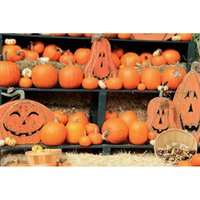 Wholesale Photographer Photo photography background pumpkin decoration Halloween backdrops photo studio portrait photophone fotografia