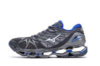 Wholesale nova fabrics - MIZUNO PROPHECY 7 NOVA Running Shoes for Men WAVE Cushion Sneakers Breathable Mens Sports Shoes