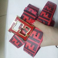 Wholesale leopard head belt - Personality belt Hot Sale Adult Cowskin Casual Wholesale Smooth Diamond Leopard Head Buckle Fashion accessories Leather Belt for men gift