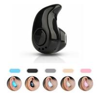 ingrosso le orecchie delle cuffie avricolari del bluetooth-Cuffie auricolari Bluetooth wireless S530 più piccole con microfono per iphone X 8 7note8 per tutti i cellulari