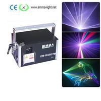 Wholesale Dj Laser Light 3d - 4000mW rgb laser light , beam Animation and 3D effects laser ,programmable laser disco light