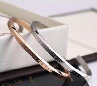 bracelet shamballa love achat en gros de-nouvelle DW Bracelets Manchette Or Or Argent Bracelet 100% en acier inoxydable Bracelet Femmes et Hommes Bracelet pulsera Epacket Gratuit
