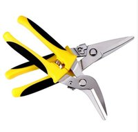 garden cutters tools - New Sheet Metal Cutter Cutting Shears for Home Garden Iron Sheet with Plastic thread Multi Function Iron Sheet Scissors