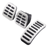 Wholesale Vw Pedals - Fit for Volkswagen VW Bora   Jetta Mk4   Golf Mk4   Polo 9N Non-slip Stainless Steel Style Pedal Cover for Manual Gear