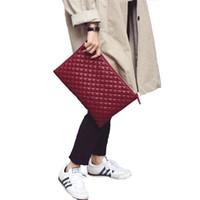 конструкция конверта мешка оптовых-Women Day Clutche Diamond Lattice Envelope Bags Ladies big Capity Bag Female PU Leather Party Evening Bag  Design Bolsa