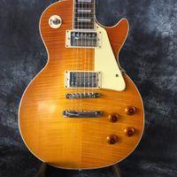 ingrosso trasporto libero della china delle chitarre-Spedizione gratuita 2018 fabbrica diretta Classic 1959 R9 Yellow Burst Cina Guitar Style chitarra elettrica standard con chitarra guitars