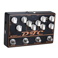 Wholesale guitar effects pedals looping for sale - Group buy MOSKY DTC in Electric Guitar Effect Pedal Distortion Overdrive Loop Delay