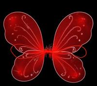 asas de borboleta para trajes venda por atacado-Crianças Menina Princesa Fada Borboleta Asas do Dia Das Bruxas Extravagante Vestido de Anjo Traje Bonito Do Bebê Vestido de Festa suprimentos 20 pçs / lote GA359