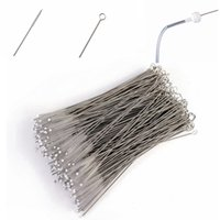 Wholesale baby bottle cleaning - Baby Milk Bottle Cleaning Brushes Stainless Steel Drinking Pipe Cleaners Nylon Straw Cleaners Brush Teapot Nozzle Clean Tool 1000Pcs AAA234