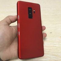Wholesale dual sim phone - New Red Goophone Plus Quad Core MTK6580 Andriod GB RAM GB ROM HD inch HD MP G WCDMA Unlocked Phone
