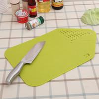 esnek levhalar toptan satış-Katlanabilir Plastik PP Doğrama Blokları Esnek Meyve Et Sebze Kesme Tahtası Dayanıklı Pişirme Aracı Ev Mutfak Için 4 9rh Y