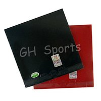 Wholesale table tennis friendship 729 - 2 pieces of RITC 729 Friendship General A Pair Rubber 1 Red and 1 Black pips-in table tennis rubber with sponge 2.2mm