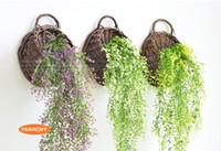 ingrosso matrimonio 88-88 cm 85 cm 5 colori Admiralty salice decorazione di nozze fiore foglie verdi singola pianta di plastica decorazione della casa spedizione gratuita