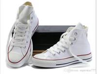 schuhe niedriger preis für frauen groihandel-Fabrikpreis femininas Segeltuchschuhe Frauen und Männer hohe niedrige Art-klassische Segeltuch-Schuh-Turnschuh-Segeltuch-Schuh