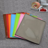 Wholesale stick silicone baking mat set for sale - Group buy Bakeware Tools pc Non stick Silicone Oven Cake Roll Mat Baking Mat Functional Baking Macaron Cake Pad Swiss Roll Pad Bakeware