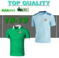 Wholesale ireland soccer jersey - Northern Ireland soccer jerseys 2018 World Cup home green DEL NORTE Tuaisceart Eireann McNAIR K.LAFFERTY DAVIS football shirts away jersey