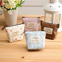 Wholesale purse square flower resale online - Pink sugao new style cute flower canvas luxury coin purse girls coin pouch designer wallet