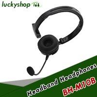 ingrosso camion superiori-Top vendita Mono BH-M10B Multi-point Bluetooth senza fili Cuffia auricolare con microfono per Truck Driver PS3 PC