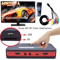 grabadora de captura de juego al por mayor-Ezcap284 HD Video Game Capture 1080P HDMI / YPbpr Recorder Box para PS3PS4 XboxOne (Tamaño 1: enchufe de la UE, Tamaño 2: enchufe de los EE. UU.)