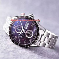 Wholesale calibre 16 sapphire - Luxury Best Quality Watch HBB V6 Factory 43mm Calibre 16 CV2A10.BA0796 Chronograph Working Swiss ETA 7750 Movement Automatic Mens Watches