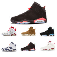 Wholesale pink jump - Best seller 6 Fade away Men Basketball Shoes 7s History of Flight white red high quality jump man fashion style sport sneakers