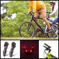 5faa6c18058 New 2pcs Bike Bicycle Handlebar Grips Light Led Bicycle Turn Signal Warning  Lamp Safe Cycling Mountain Bike Bicycle Lights Q0847