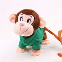 Wholesale educational monkey toys for sale - Group buy Abbyfrank Soft Electronic Plush Monkey Toys Musical Cute Toy For Baby Children Wear Clothes Pet Early Educational Jouet Enfan