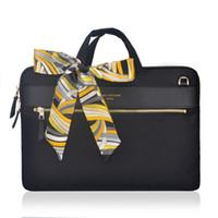 handtasche für macbook großhandel-Laptop-Einkaufstasche für Macbook Pro Touchbar 13 Hülle Frauen Männer Handtasche Schutztasche für Mac Book 12 Pro 13.3 Abdeckung