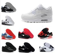 Wholesale Authentic Quality Shoes - 2017 Men women Air Cushion Classic 90 Running Shoes Authentic Sports Shoes For Men women Top Quality Outdoor Sneakers,Wholesale!