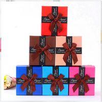 wrist watch gift box оптовых-Коробка для галстука-бабочки Прочная презентация Подарочная коробка Чехол для браслета Браслеты для ювелирных изделий Коробки для наручных часов
