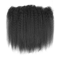 Wholesale brazilian hair styles for sale - Yaki style quot quot x4inch Closure Hair Pure Brazilian Lace Top Closure Lace Size Kinky Straight Hair style Fashion Hair