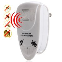 Wholesale home solutions - Ultrasonic Electric Pest Repeller Reject Rat Mouse Insect Repellent Home Indoor Pest Control Solution Us Plug 100 -240v  Ac