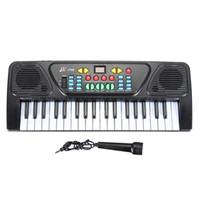 musikalische elektronik großhandel-37 Schlüssel-Orgel-elektrisches Klavier 425 x160 x 50MM Digital-Musik-elektronische Tastatur-Musikinstrument für das Lernen