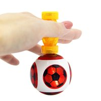 Wholesale power magic - Kids toy Magneto Sphere Ball with 3 Bearings Dazzling Light Battle Game Ball with Power Ring Magic Magnetic Finger Induction Balls OTH314