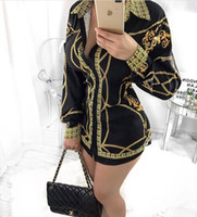 Wholesale cap sleeve cardigan - Female jacket shirt dress fashion leisure sexy black cardigan render unlined upper garment skirt