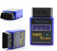 opel obd scan tool achat en gros de-NOUVELLE Vgate MINI ELM327 Bluetooth OBD SCAN pour PC PDA Mobile outil d'analyse sans fil orme 327 BT soutien Andorid et Symbian