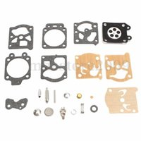 Wholesale gaskets kit - Wholesale 22pcs lot Mower Carburetor Repair Gadgets Carb Rebuild Tool Gasket Kit For Walbro K20-WAT WA  WT Garden Decor